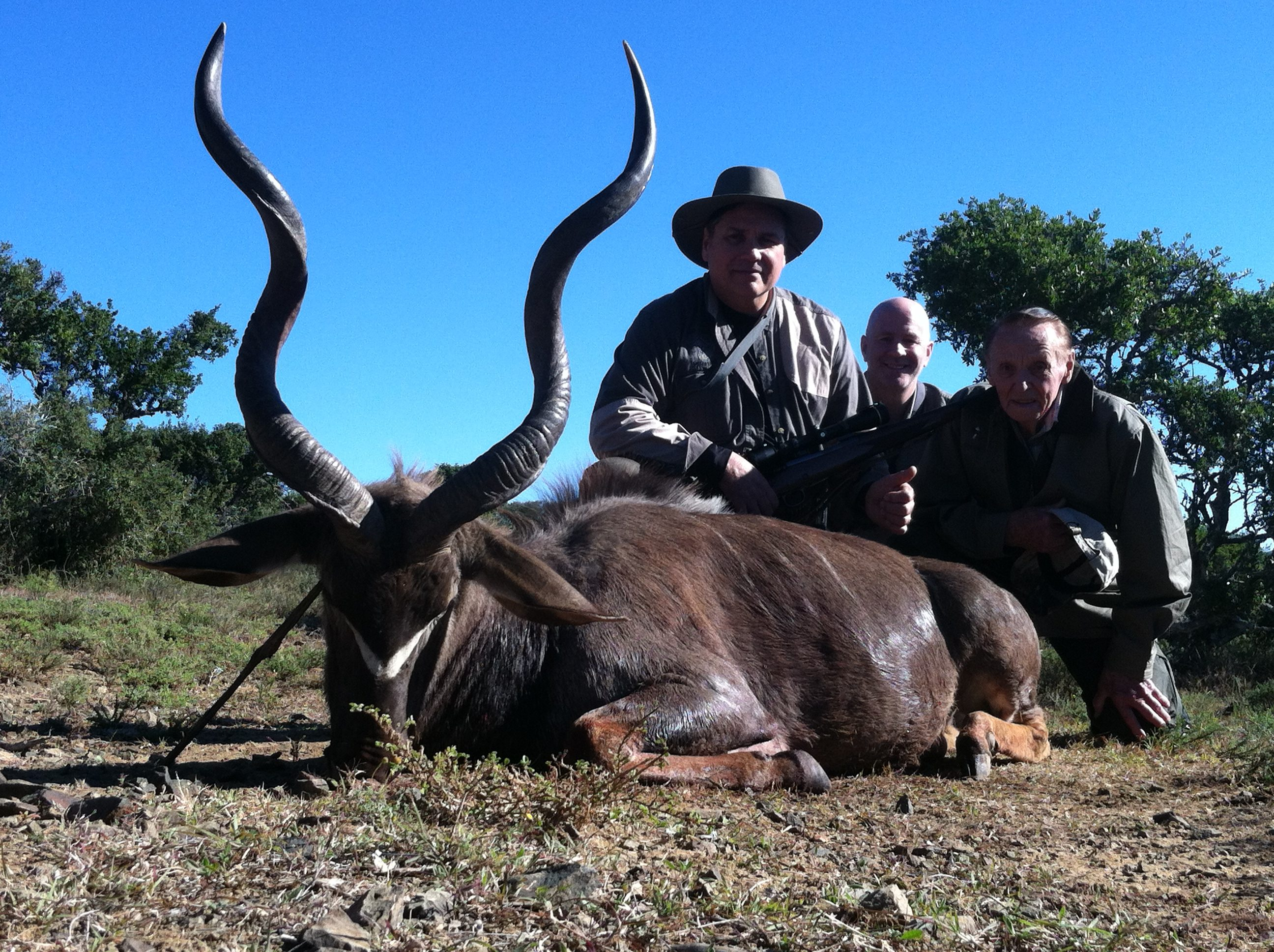 Carle and Ralphs Kudu Trophy